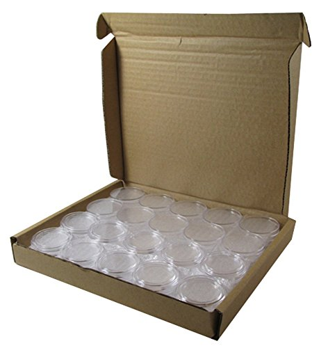 Guardhouse Direct Fit Holder Capsule for 1 oz American Gold / Platinum Eagles and Early Half Dollars 50 Pack (Price Of 1 Oz Gold American Eagle)