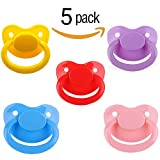 Ten@Night Adult Baby Pacifier Five Color Pack