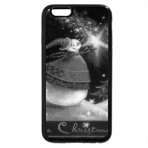 iPhone 6S Case, iPhone 6 Case (Black & White) - Catch a Christmas Stars