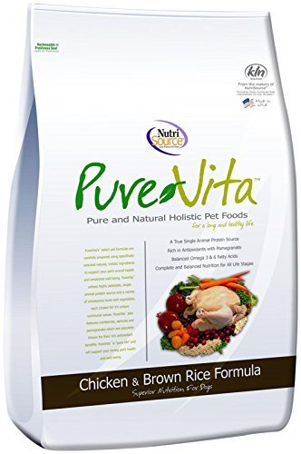 - Pure Vita Dry Dog Food - Chicken & Brown Rice - 5 lbs
