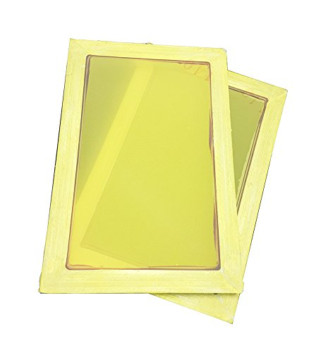 2 Pack Silk Screen Printing Screens 2030 CM Aluminum Frames- 350 Yellow Mesh YLZ by YLZ
