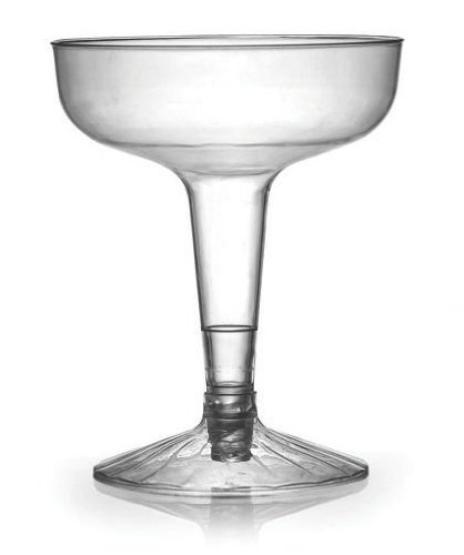 Fineline Settings 2104 Flairware 4 oz Clear Old Fashioned Champagne Glass 2 Piece