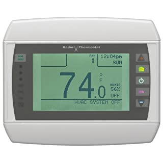 Homewerks Radio Thermostat CT-80-H-K1 Wireless Thermostat with Wi-Fi Module, Dual Wireless Inputs and Large Touch Screen (B004YZFU4S) | Amazon price tracker / tracking, Amazon price history charts, Amazon price watches, Amazon price drop alerts