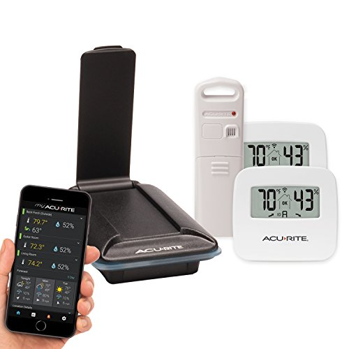 AcuRite 01163M 3-Sensor Indoor and Outdoor Temperature & Humidity Remote Monitoring System