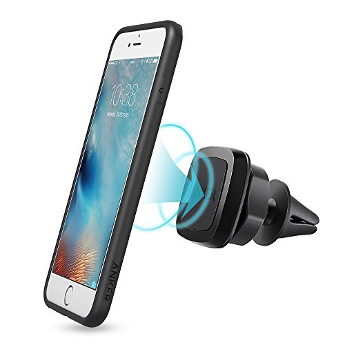 Car-Phone-Mount-Anker-Air-Vent-Magnetic-Universal-Phone-Holder-for-iPhone-77plus6s6Se-Samsung-Galaxy-LG-G5-Nexus-Moto-HTC-Sony-and-Other-Smartphones-Black