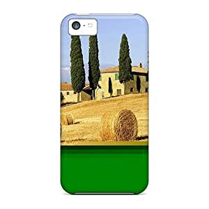 Iphone 5c Cover Case - Eco-friendly Packaging(tuscany Fields)