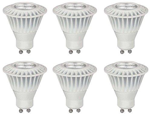 - TCP 25W Equivalent, LED GU10 Base MR16 Flood Light Bulbs, Dimmable, Soft White (6 Pack)