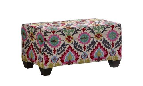 Amazon Com Skyline Furniture Storage Bench Santa Maria