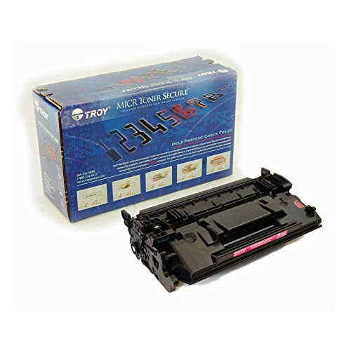 TROY 02-81675-001 MICR Toner Secure Cartridge for M506, M527 (MICR Version of HP CF287A)