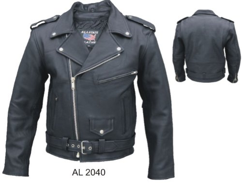 Mens Drum Dyed Naked Cowhide M.C. Jacket with sleeve zip out liner and full removable belt, and much more AL 2040 -54