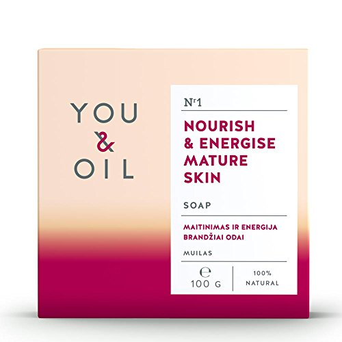 (You&Oil Soap for Nourishing and Energising Mature Skin 100 g, Made in Europe)