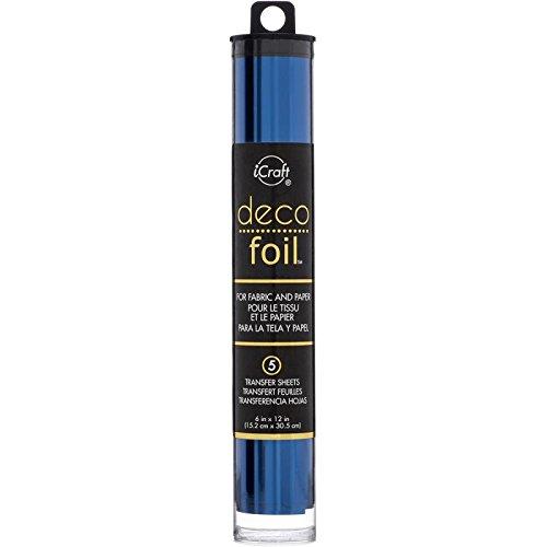 Therm o Web-Deco, fogli di carta 15 x 30 cm, colore: blu scuro, altri Thermoweb 5124.5