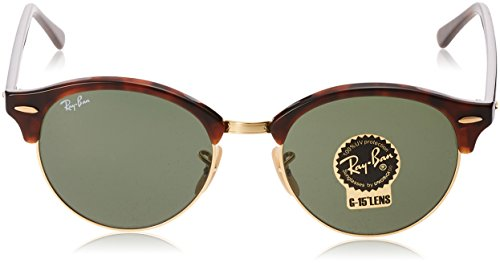 rb Sonnenbrille Ray Rouge ban 4246 green Havana Clubround red xfvwPvF