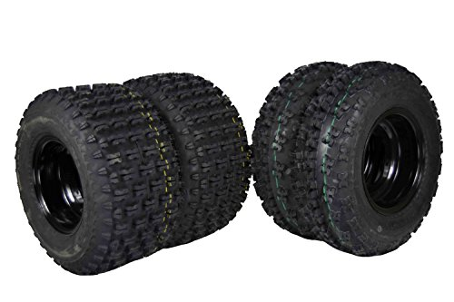 4 NEW Yamaha YFZ350 Banshee 350 Black Aluminum Rims for sale  Delivered anywhere in USA