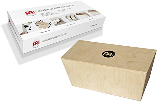 Meinl Make Your Own Bongo Cajon Kit - MADE IN EUROPE - Baltic Birch Wood, Includes Easy to Follow Manual, 2-YEAR WARRANTY (MYO-BCAJ)