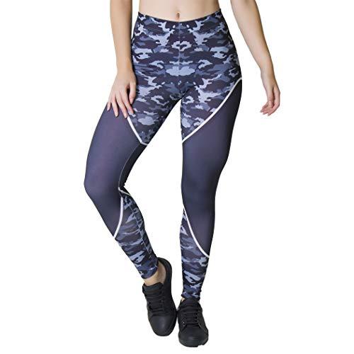 Calça Feminina Legging Sublimada Camo Carbon