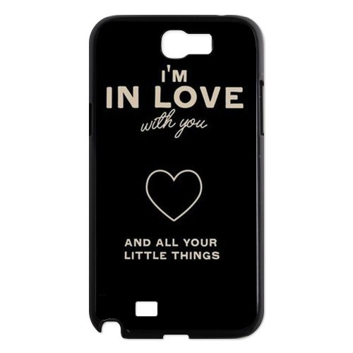 - CTSLR 1D One Direction Quote Hard Case Cover Skin for Samsung Galaxy Note 2 N7100-1 Pack- 6