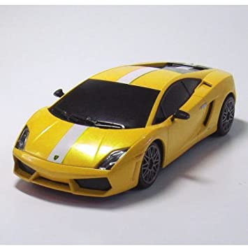 1 26 Rc Lamborghini Gallardo Yellow Ty 0101ly Amazon Co Uk Toys
