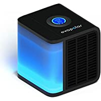 Evapolar evaLIGHT Personal Evaporative Air Cooler and Humidifier/Cleaner, Portable Air Conditioner, Black
