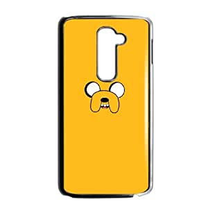 Custom Cover Case Fashion Adventure Time For LG G2 SXSWT947094