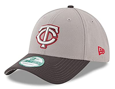 "Minnesota Twins New Era MLB 9Forty ""The League"" Adjustable Hat - Gray"