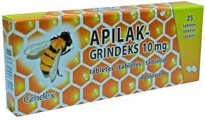 Apilak 10mg Tabs N25 Metabolism in the Body Regulating Agent by Grindeks