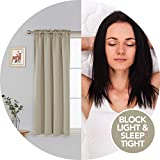 Deconovo Rod Pocket Blackout Curtains Thermal