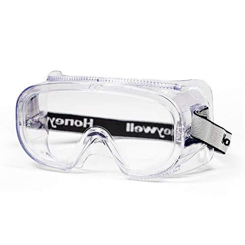 Anti-vaho para Laboratorio Lentes de Seguridad antivaho LAAT Gafas de Seguridad Cubregafas Protectoras