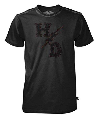 harley-davidson-mens-black-label-h-d-lightning-bolt-short-sleeve-tee-black