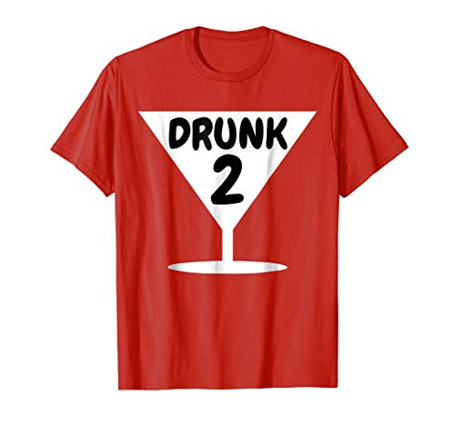Funny Drunk 2 Party Thing Halloween Costume T-shirt
