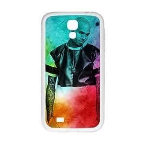 DAZHAHUI Chris Brown Phone Case for Samsung Galaxy S4