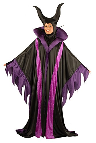 Scary Female Costumes - Charades Women's Plus Size Magnificent Witch,