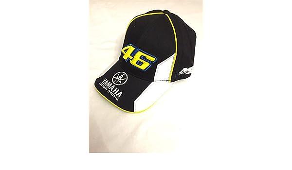 Gorra Yamaha Valentino Rossi VR46 Official Cap Team Moto GP negro  Amazon.es   Coche y moto 31dfe0e4ce0