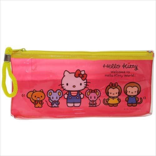 Uniq Flat Pouch Hello Kitty KT-0131 Clear
