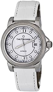 Carl F. Bucherer Patravi AutoDate Automatic Steel Strap Watch MOP Dial 00.10617.08.77.01