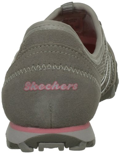 Brown Sneaker nbsp;Hot 21159 Ticket donna Bikers Taupe Skechers Y1wvpgPqqn
