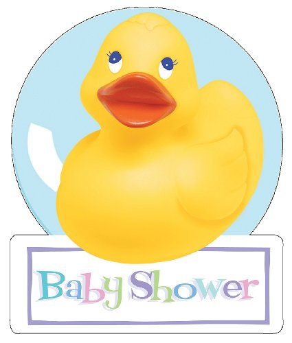 Rubber Ducky Baby Shower Invitations (8-pack) ()