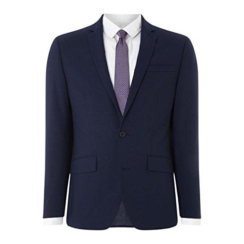 [ケネスコール] メンズ ジャケット&ブルゾン Harlem Slim Fit Travel Suit Jacket [並行輸入品] B07F35P91J 36 Regular