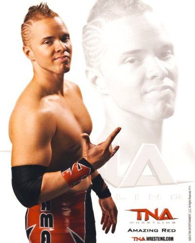 Amazing Red - Official TNA Wrestling 8x10 Promo Photo