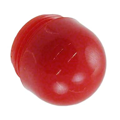 Red Dome Visual Communications Company VCC Pack of 10 25P-307R PLC T-2 9//16-27 Round Translucent