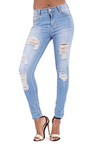 Lusty Jeans Femme bleu bleu Chic HHTxq4wnrO