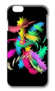 MOKSHOP Awesome Nice Paw Art Colorful Painting Hard Case Protective Shell Cell Phone Cover For Apple Iphone 6 Plus (5.5 Inch) - PC 3D by ruishername