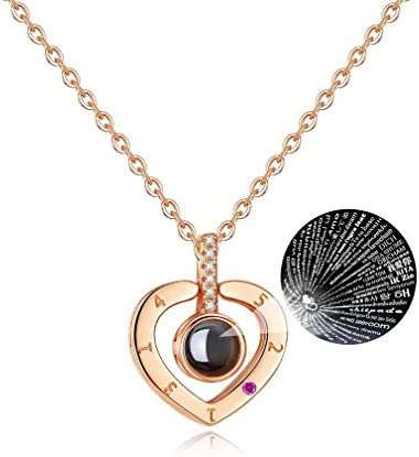 NEW EC Languages Different Necklaces Girlfriend product image