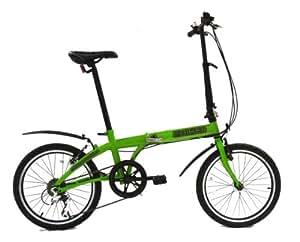 fBIKE Direct 6 Speed Folding Bike (Margarita green)