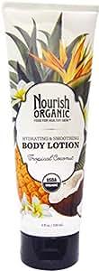 Nourish Organic, Body Lotion, Tropical Coconut, 8 fl oz (236 ml)