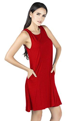 Femme Red Suri Robe Mia Tunique gUHxq