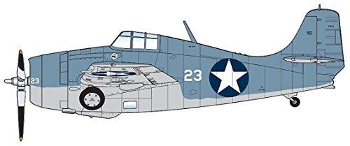 (Grumman F4F-4 Wildcat Battle of Midway White 23, Flown by Lt. Cdr John Thach, VF-3, USS Yorktown, 4-6 June 1942 1/48 Scale HA8902)