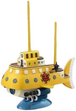 Color-Coded pre-Plastic One Piece Great Ship of Ground Ship Collection Trafalgar Law Submarine from TV Animation ONE Piece