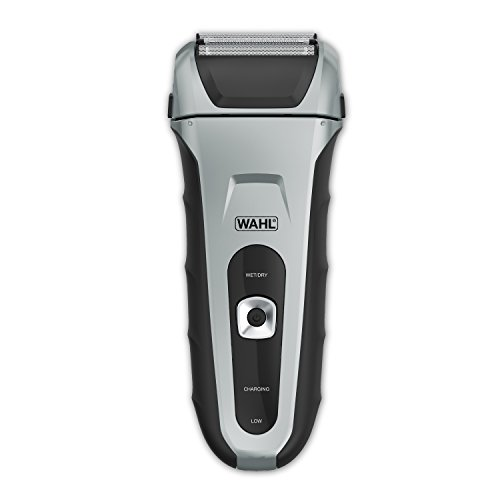 Wahl Speed Shave Foil Shavers for Men, Electric Razors, Rechargeable WaterProof Wet/Dry Lithium ion with Precision Trimmers for Beard Shaving and Trimming, by the Brand used by Professionals#7061-500