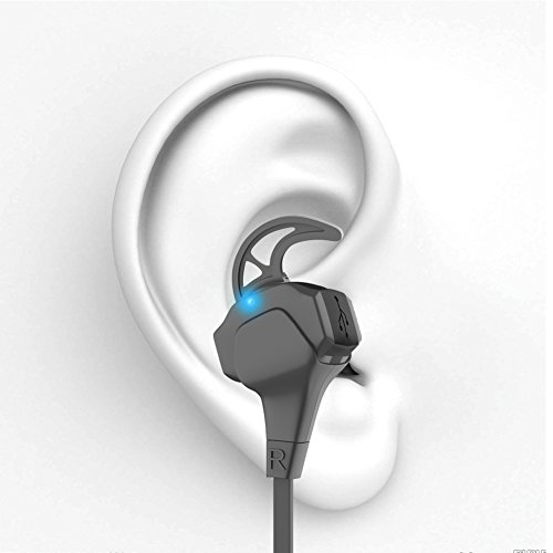 APIE Wireless Sports Bluetooth Headphones Noise Cancelling Sweatproof Running Stereo with microphone Earphones Earbuds for Smartphones